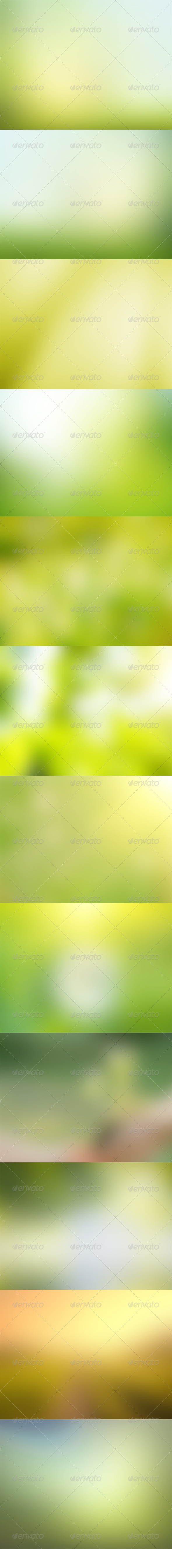GraphicRiver Green Backgrounds 5703823