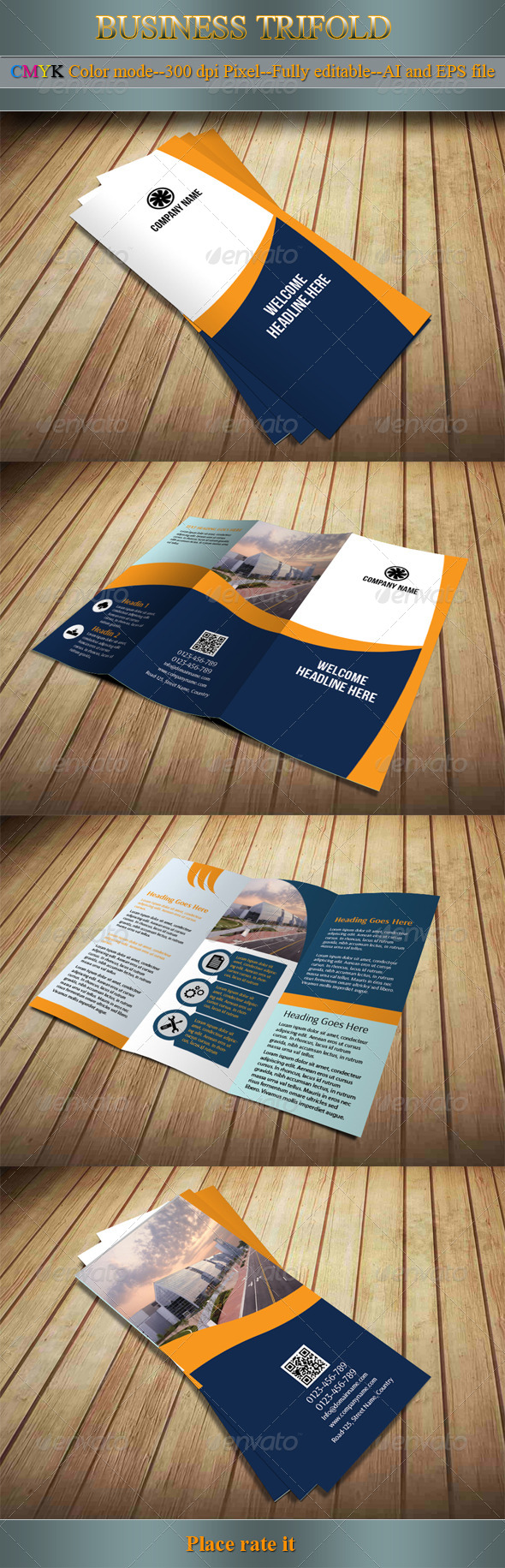 GraphicRiver Business Trifold 5593160