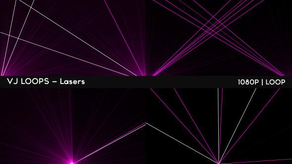 VJ Loops Lasers