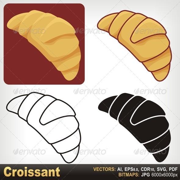 GraphicRiver Croissant 5704725