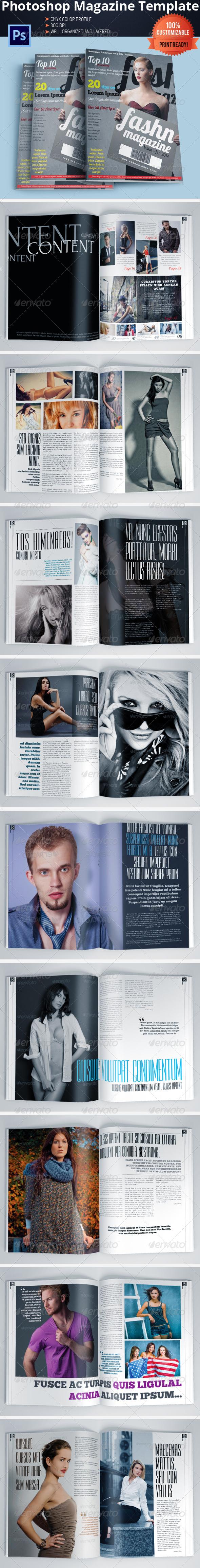 GraphicRiver Fashion Magazine Template Vol.2 5705058