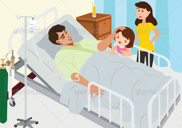 GraphicRiver Visiting Patient In Hospital 5705137