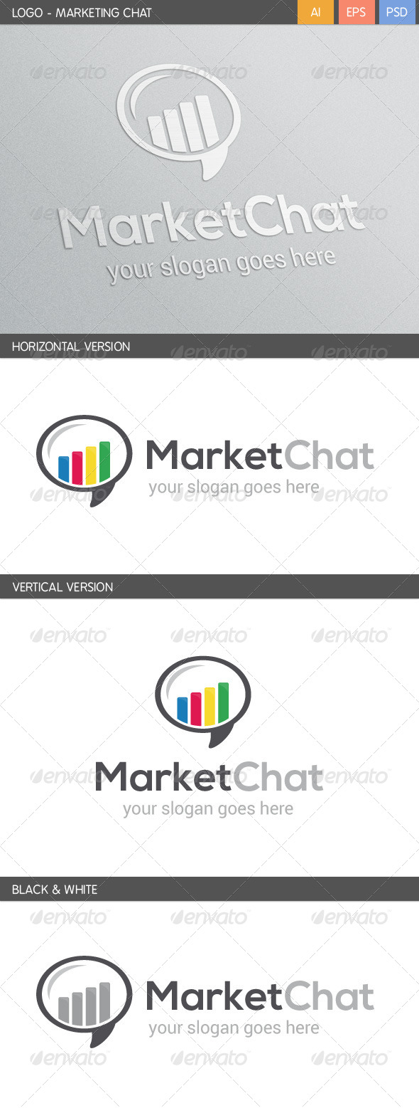 GraphicRiver Marketing Chat Logo 5705403