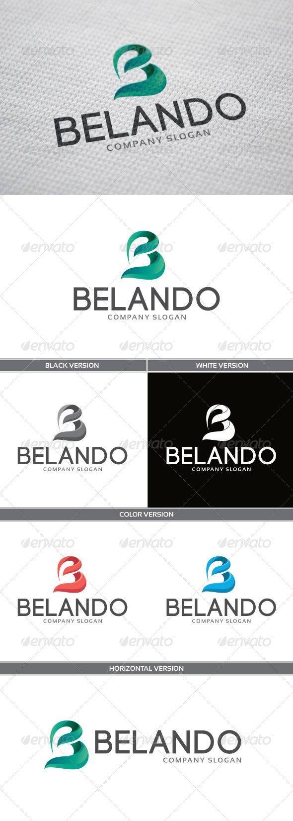 GraphicRiver Belando Logo 5705467