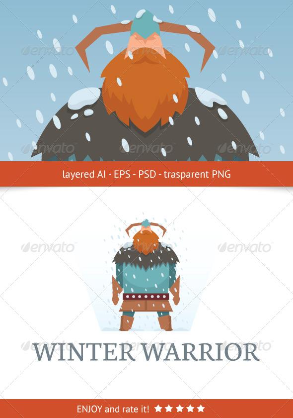 GraphicRiver Winter Warrior 5697026