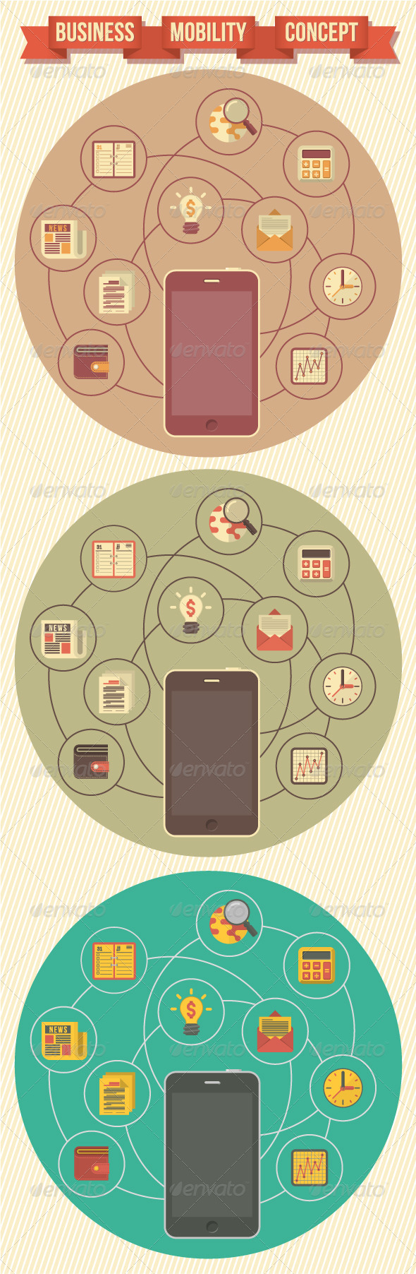 GraphicRiver Business Mobility Concept 5705684