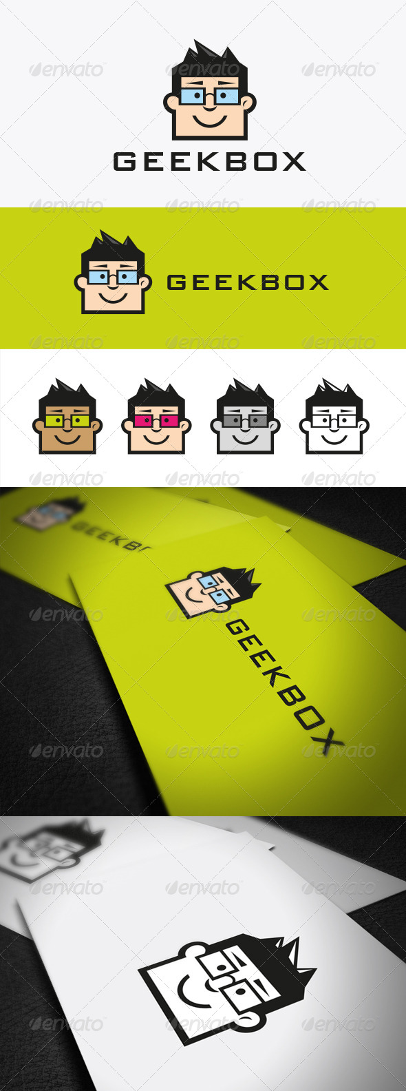 GraphicRiver Geek Box 5705712