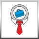 Job Point Logo - GraphicRiver Item for Sale