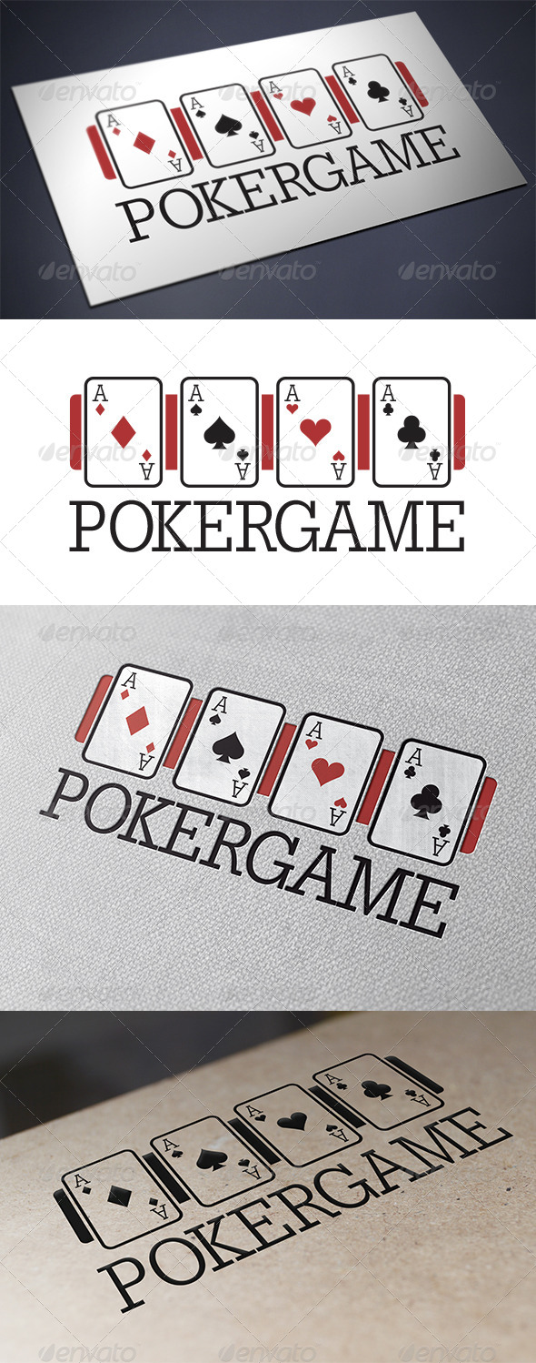 GraphicRiver Poker Logo Template 5706142