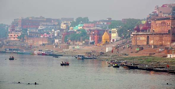 Everyday Scene In Varanasi India 5