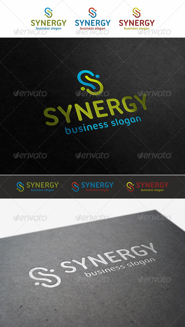 GraphicRiver Synergy S Logo 5706396