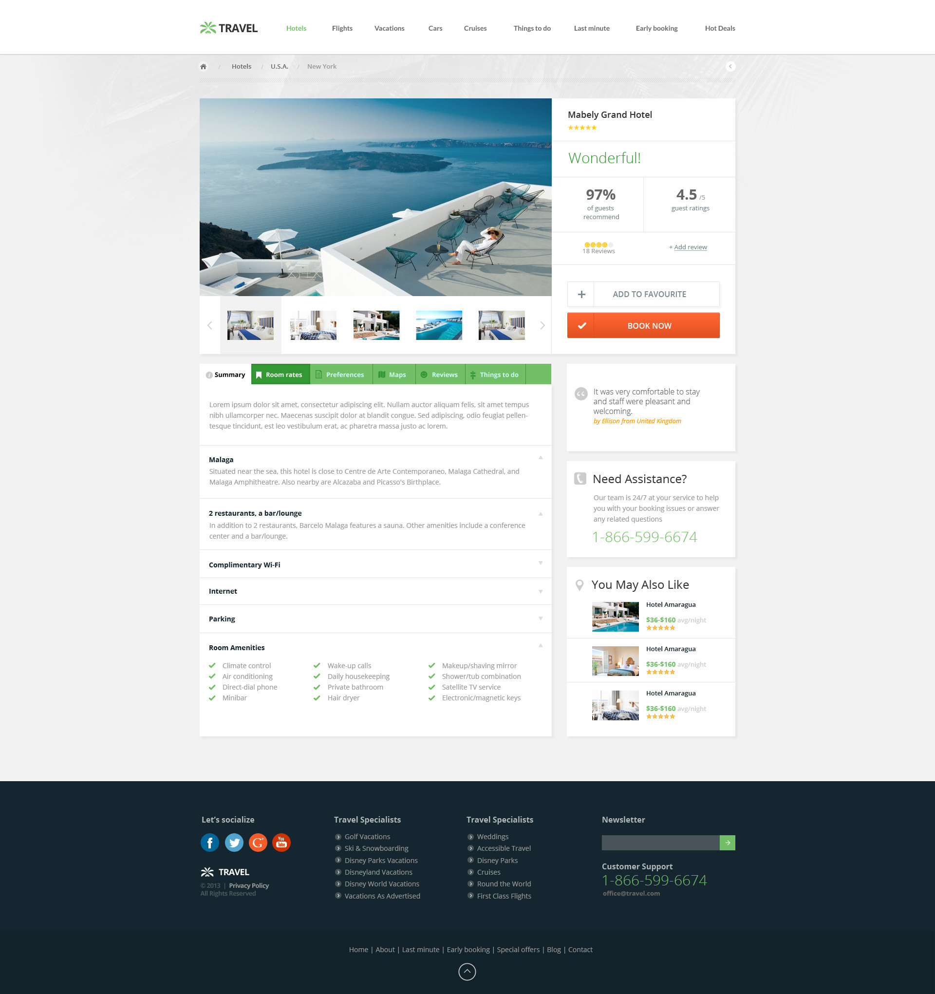Travel Agency Multipurpose Booking PSD Template by TitanicThemes – Travel Policy Template