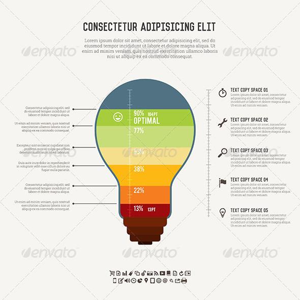 GraphicRiver Idea Meter Infographic 5706751