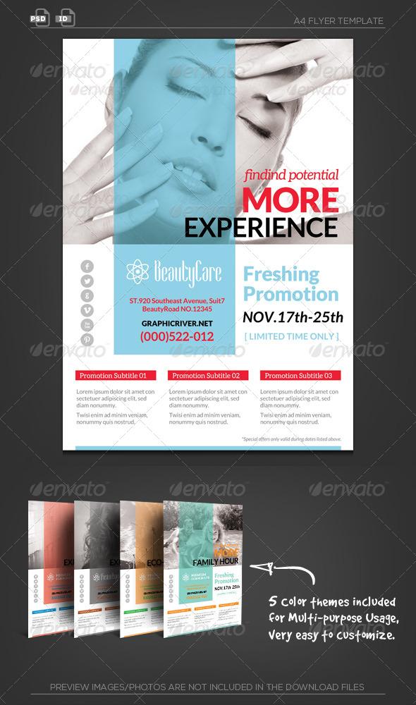 GraphicRiver Multipurpose Corporate Flyer 5706762