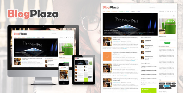 BlogPlaza - Responsive WordPress Theme