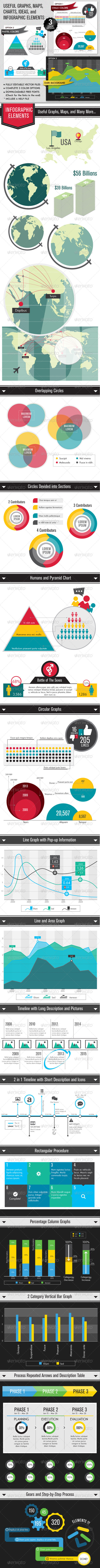 GraphicRiver Infographic Elements Multipurpose 5687645