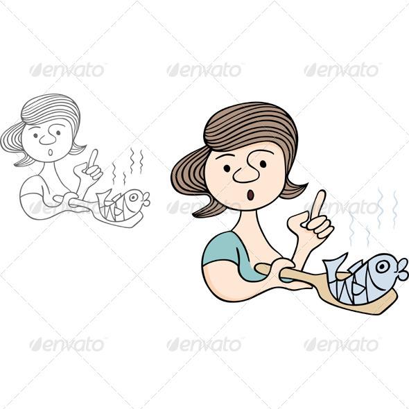 GraphicRiver Preparing Fish 5707293