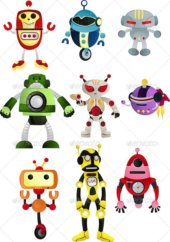 GraphicRiver Robots 5707367