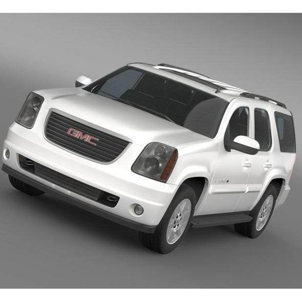 3DOcean GMC Yukon XFE 2009 5707387