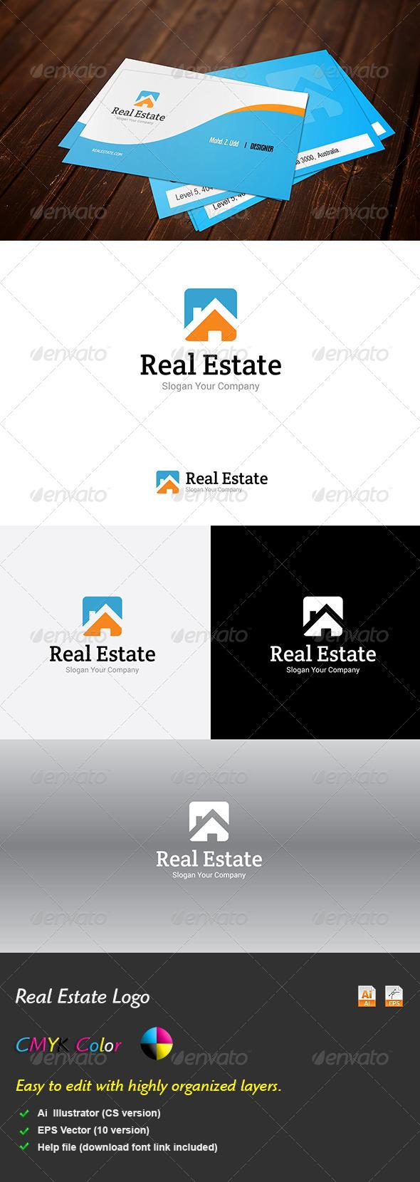GraphicRiver Real Estate Logo 5707908