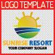 Sunrise Resort Logo Template - GraphicRiver Item for Sale