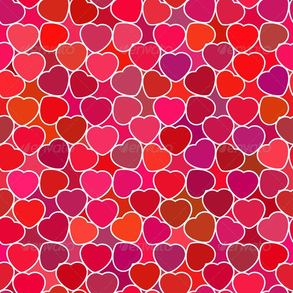 GraphicRiver Hearts Seamless Pattern 5687793