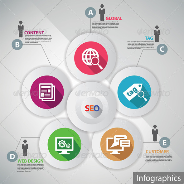 GraphicRiver SEO Infographics 5674853