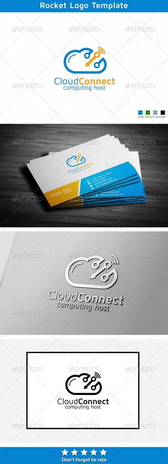GraphicRiver Cloud Logo 5709383