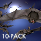 Bat Flock - Pack of 10 Transitions - VideoHive Item for Sale