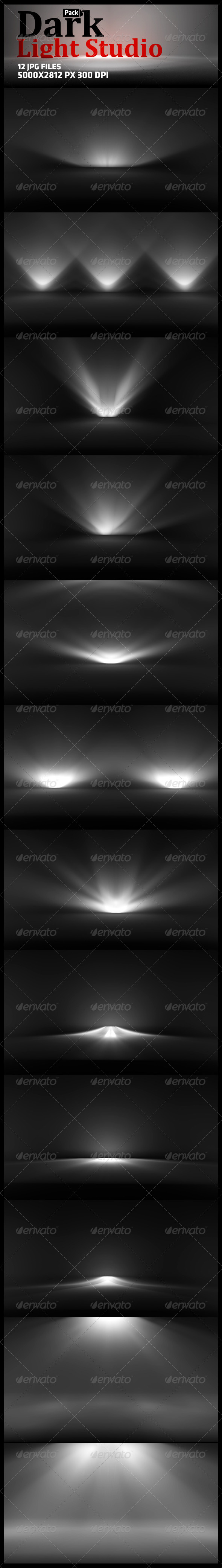 GraphicRiver Dark Light Studio 5695536