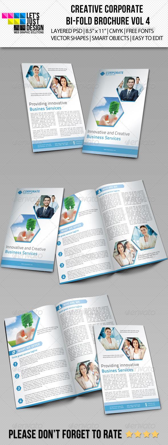 GraphicRiver Creative Corporate Bi-Fold Brochure Vol 4 5709752