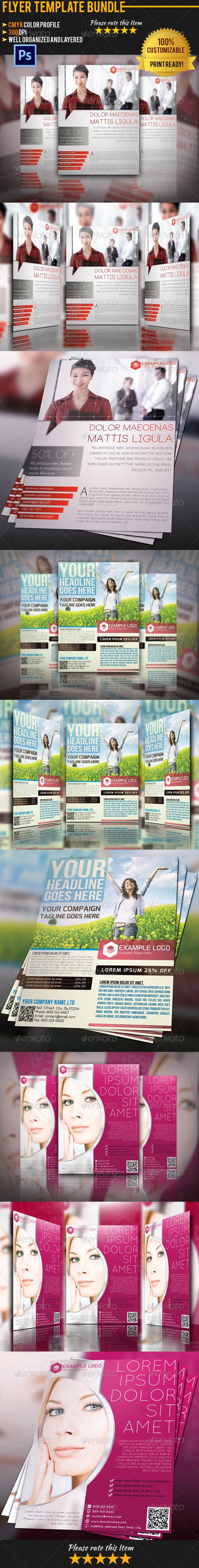 GraphicRiver Flyer Poster Bundle Vol.3 5710119