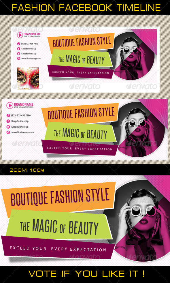 GraphicRiver Fashion Facebook Timeline 02 5710651