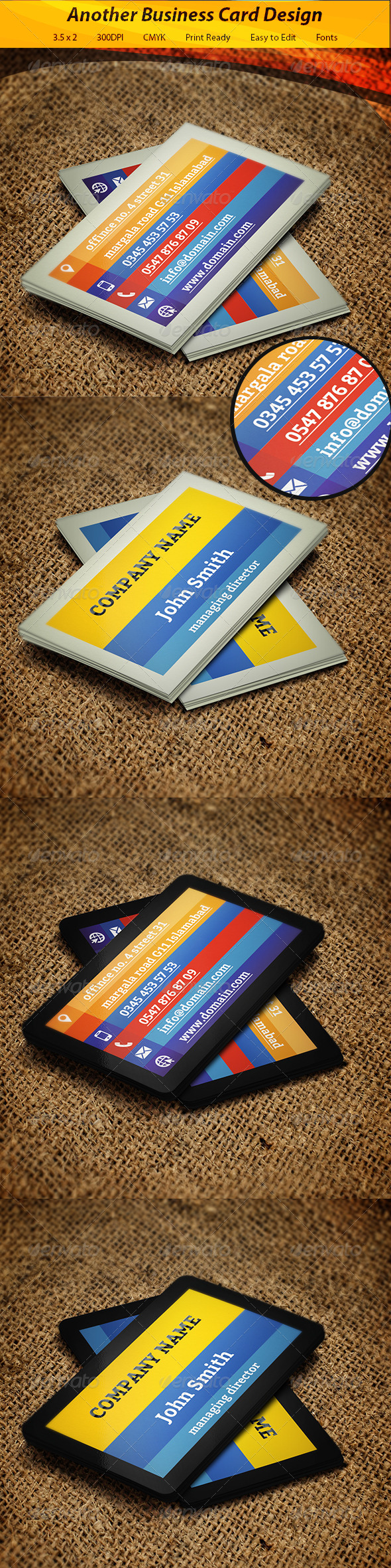 GraphicRiver Business Card 5710830