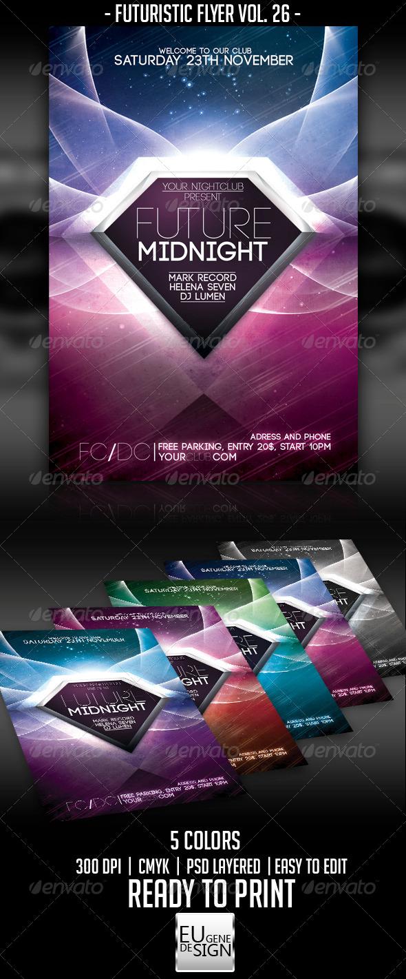 GraphicRiver Futuristic Flyer Vol 26 5710977