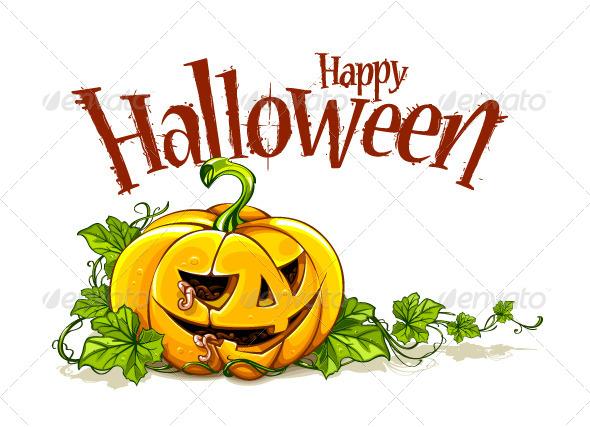 GraphicRiver Halloween Pumpkin 5710983