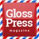 GlossPress Журнал / Блог - Різне Шаблони сайтів