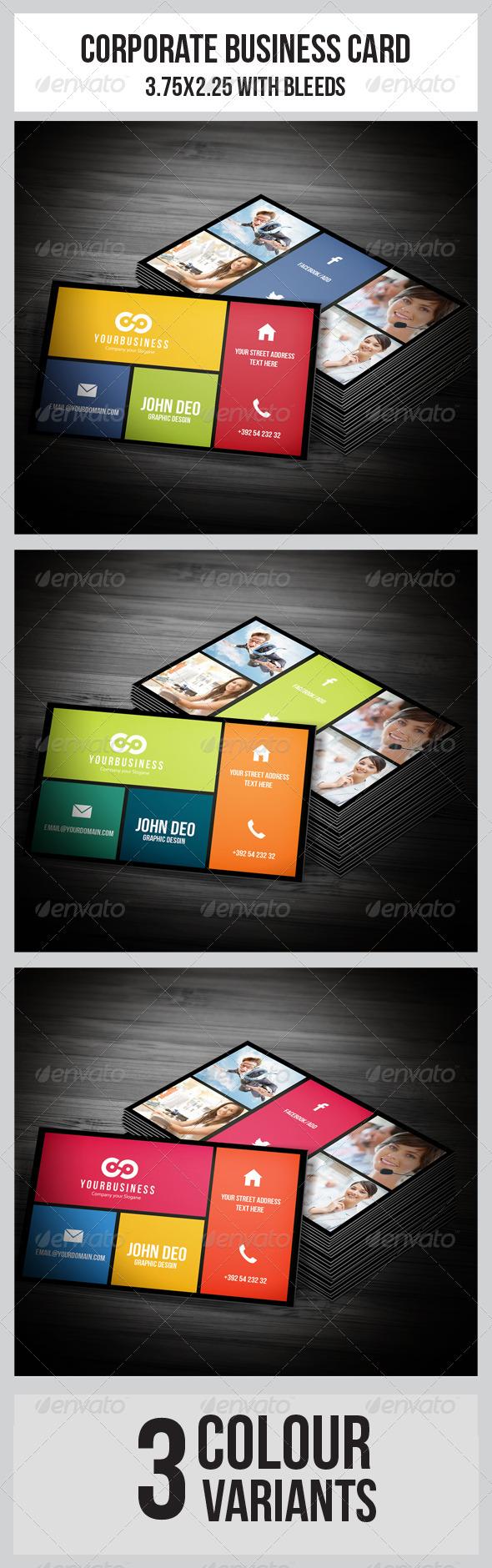 GraphicRiver Multipurpose Business Card 5711133