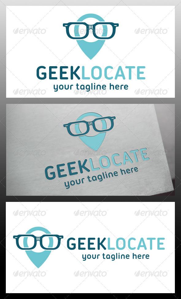 GraphicRiver Geek Locator Logo Template 5711232