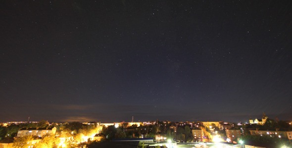 Starry Sky Over The City 2 in 1
