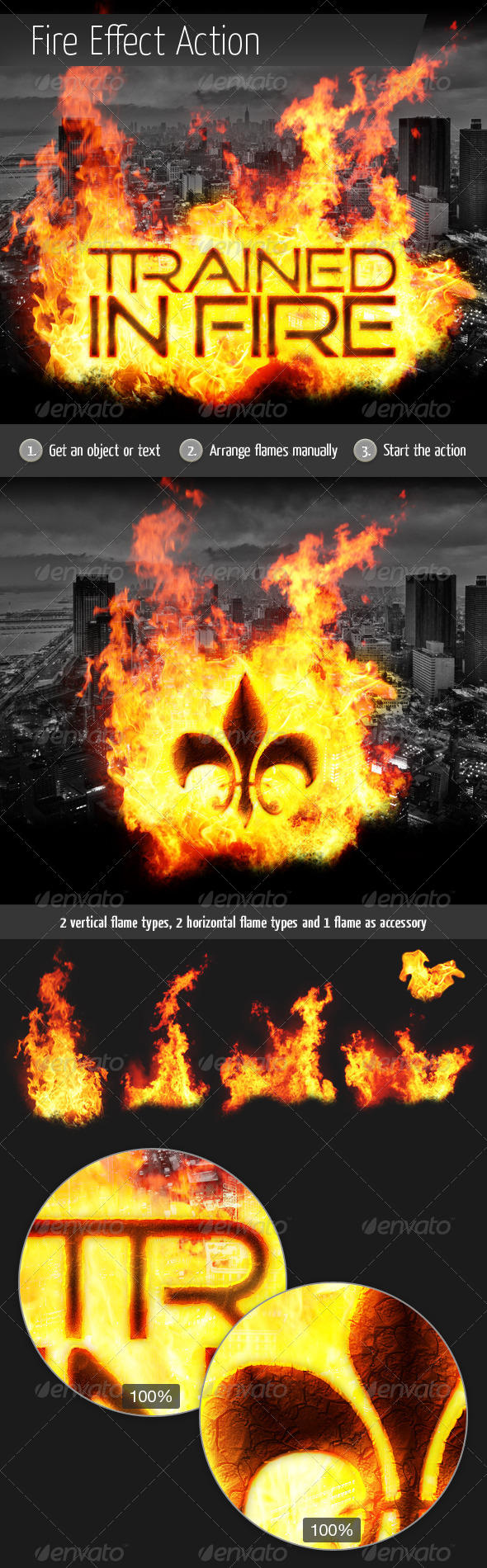 GraphicRiver Fire Effect Action 5712563