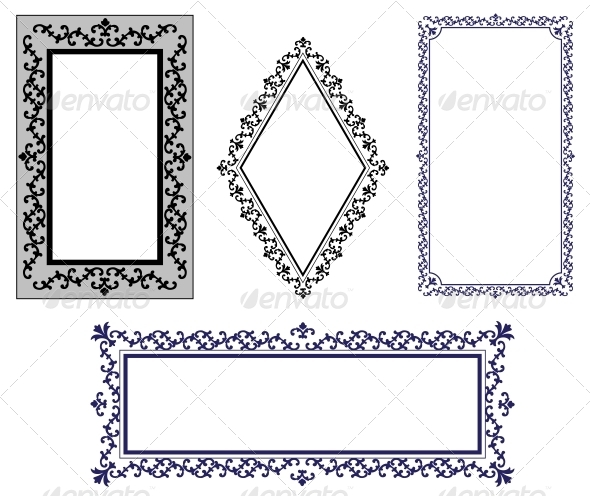 GraphicRiver Vintage Frames 5712590