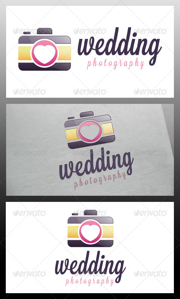 GraphicRiver Wedding Photo Logo Template 5712650
