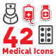 Medical | Health Icons - GraphicRiver Item for Sale