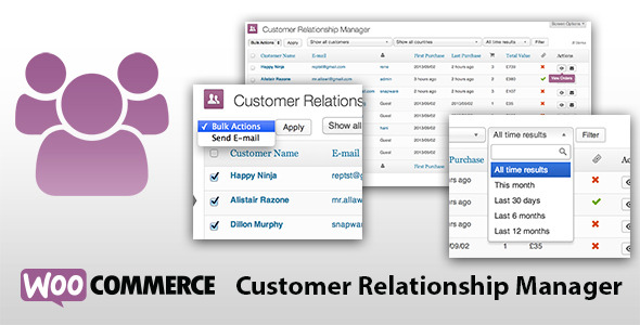 CodeCanyon WooCommerce Customer Relationship Manager 5712695