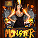 Monster Mash Party Flyer - GraphicRiver Item for Sale