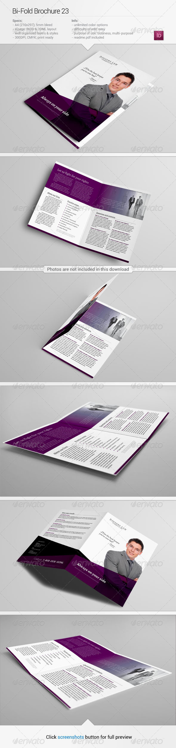 GraphicRiver Bi-Fold Brochure 23 5713058
