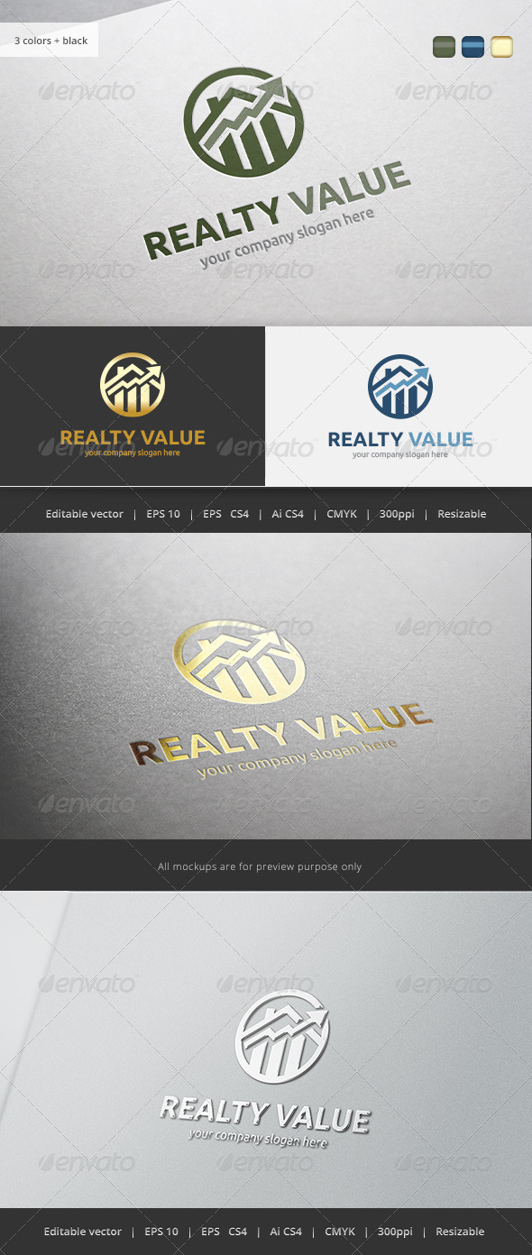GraphicRiver Realty Value Crest 5713098