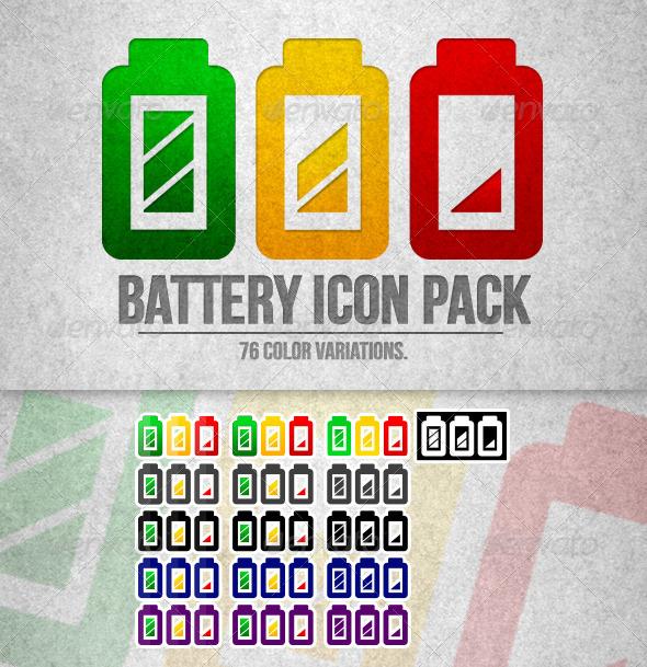 GraphicRiver Battery Icon 5659811