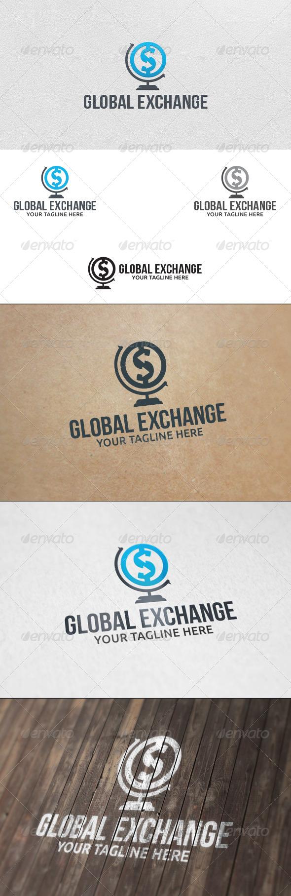 GraphicRiver Money Exchange Logo Template 5713488